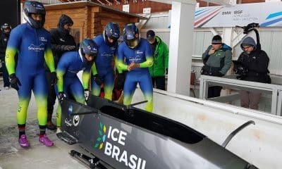 Edson Bindilatti, do bobsled brasileiro, busca construir uma pista de bobsled suspensa