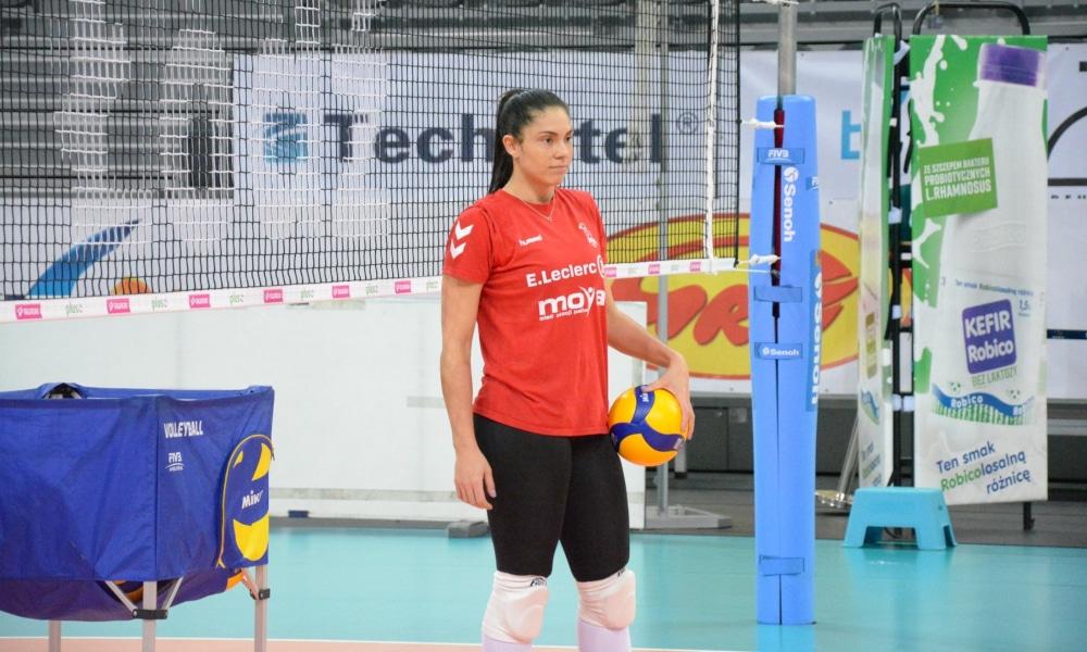Bruna Honório fez 26 pontos, mas não foi o suficiente para o Radomka Radom (Facebook/e.leclercradomkaradom)