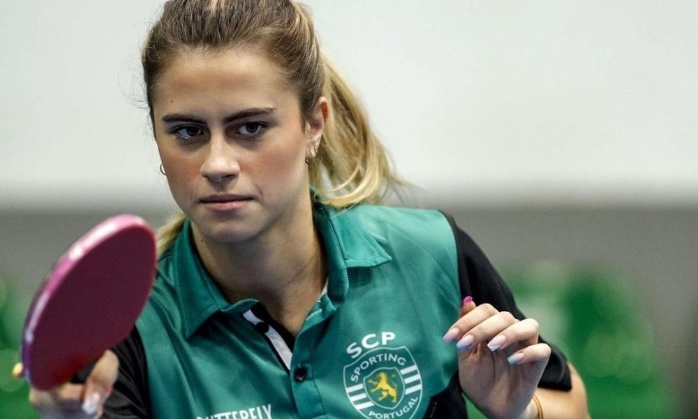 Bruna Takahashi - Sporting - Campeonato Português de tênis de mesa