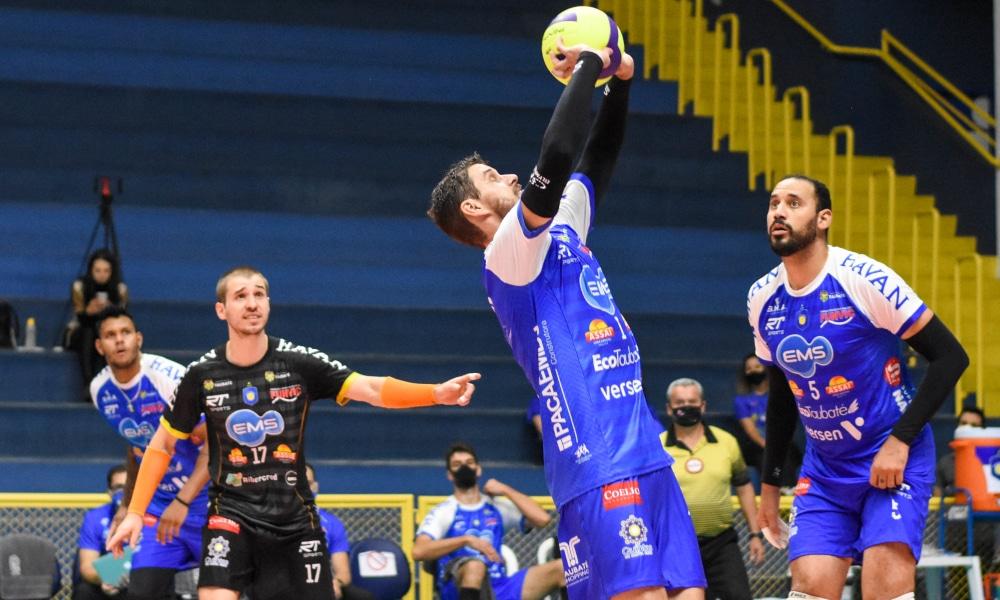 Bruninho Taubaté Superliga Guarulhos Ao vivo