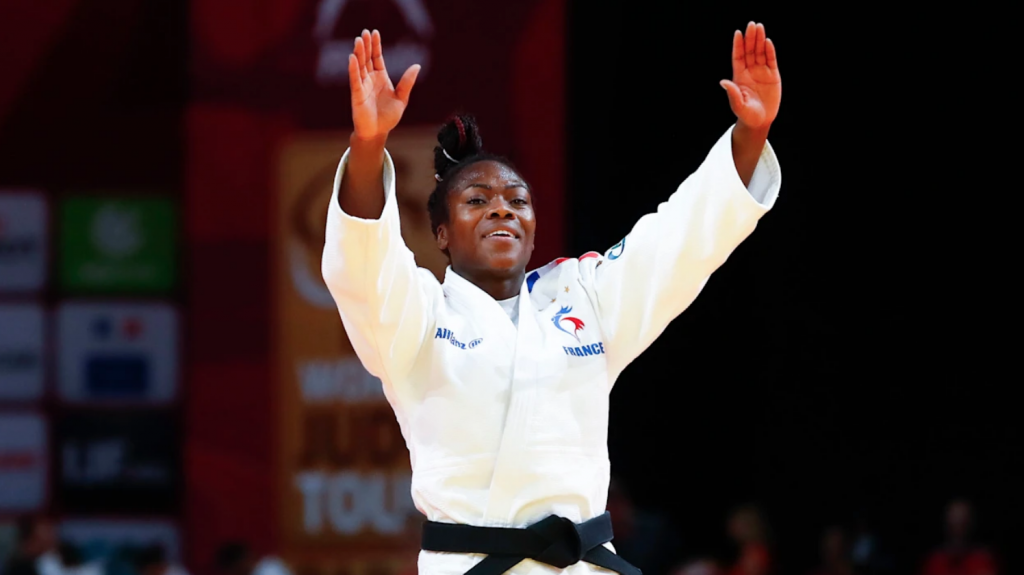Clarisse Agbegnenou jogos olímpicos tóquio