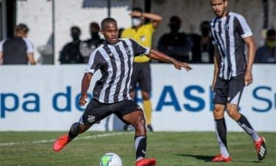 Santos e Ceará - Santos - Ceará - Campeonato Brasileiro Sub-20