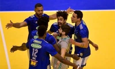 Cruzeiro - Itapetininga - Superliga masculina