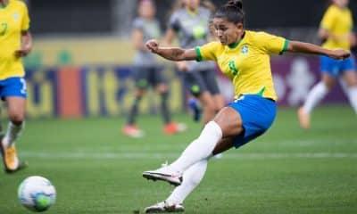 Brasil x Equador - Amistoso de futebol feminino