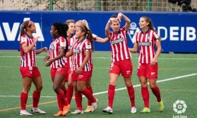 Atlético de Madrid, de Ludmila, vence mais uma
