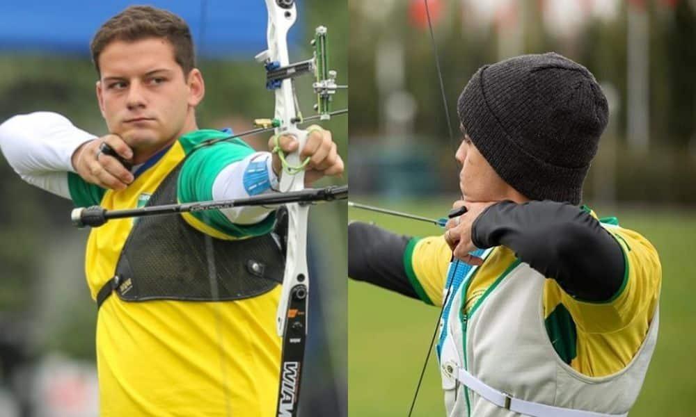 marcus d'almeida bernardo oliveira tiro com arco Jogos Olímpicos de Tóquio