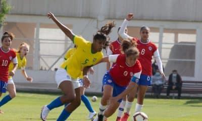 Seleção Feminina Sub-17 chile amistoso