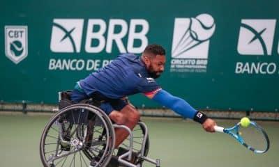 Circuito de tênis em cadeira de rodas