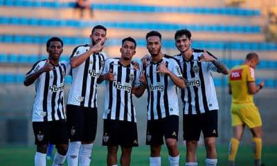 Atlético-MG vence mais uma e aparece na segunda posição do torneio sub-20