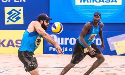 Circuito Brasileiro de vôlei de praia - Evandro/Bruno - Guto/Arthur