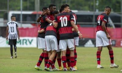 Flamengo e Athletico-PR - Semifinal do Campeonato Brasileiro Sub-17