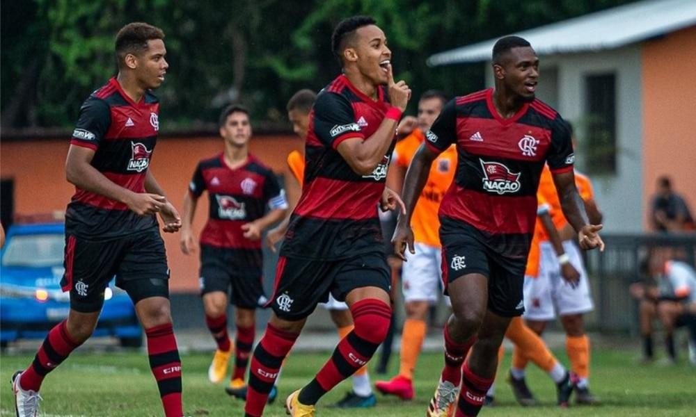 Flamengo e Botafogo - Flamengo - Botafogo - Campeonato Brasileiro Sub-20