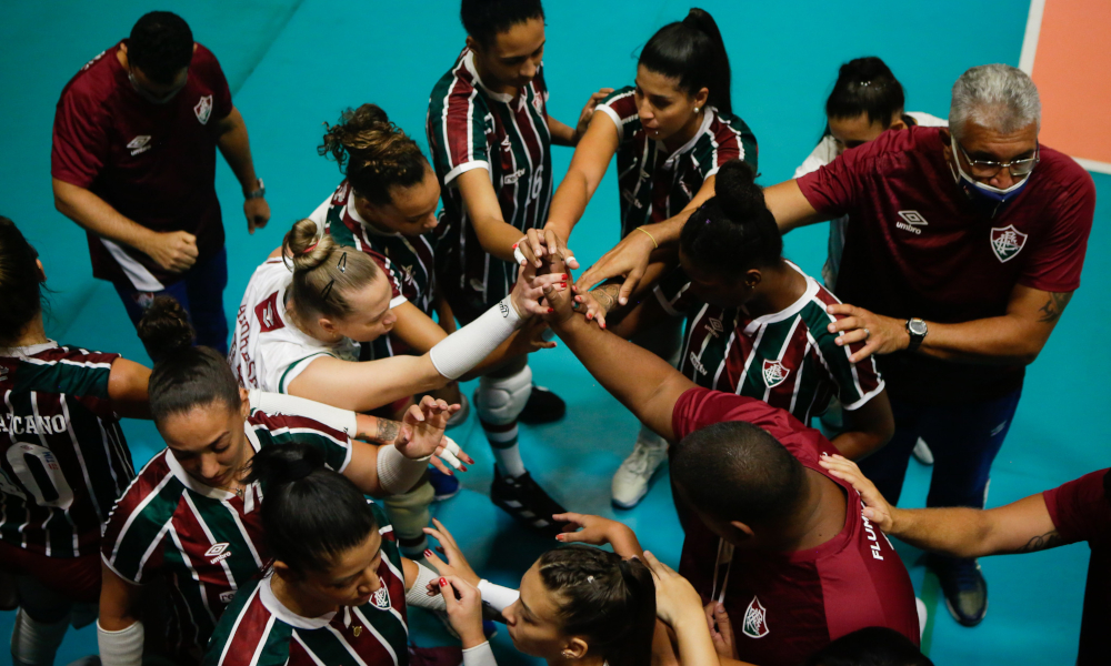 O Fluminense poderá usar Mari como ponteira ou oposto (Gilvan de Souza/FFC)