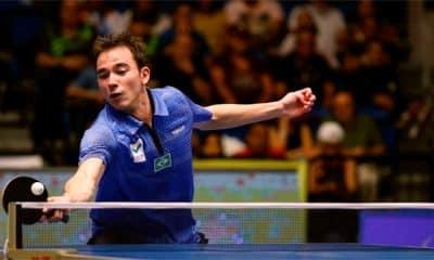 Hugo Calderano - Copa do Mundo de tênis de mesa