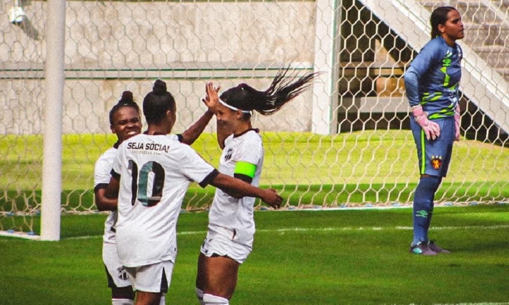 Ceará goleia o Sport por 5 a 0 e encaminha vaga para as quartas