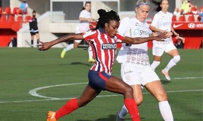 Ludmila - Atlético de Madrid - Campeonato Espanhol de futebol feminino