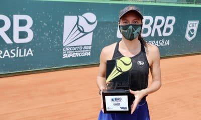 Luisa Stefani e Igor Marcondes fizeram o serviço completo na Supercopa BRB de Tênis. Depois de conquistarem os títulos no torneio de duplas, os dois também foram os campeões na disputa de simples. O evento, organizado pela CBT (Confederação Brasileira de Tênis), foi realizado no Iate Clube de Brasília