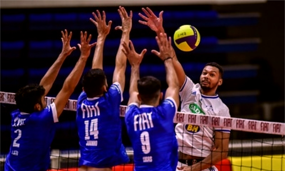 Minas e Cruzeiro - Minas - Cruzeiro - Superliga masculina