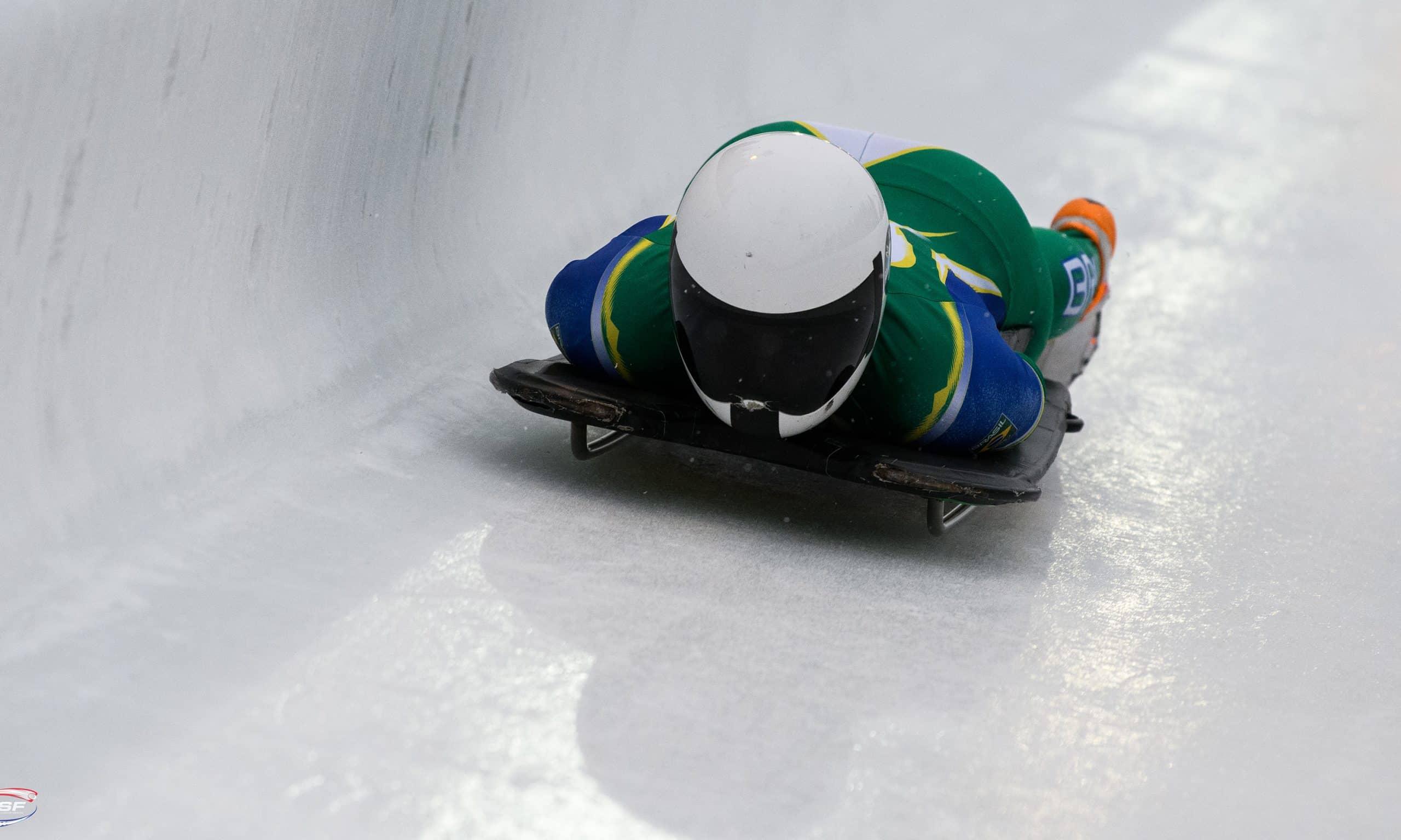 Nicole Silveira é a representante do Brasil na Copa do Mundo de Skeleton