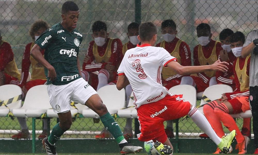 palmeiras internacional copa do brasil sub-20 futebol