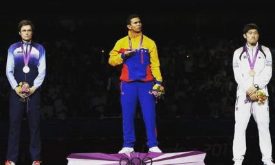 Rubén Limardo esgrima medalha