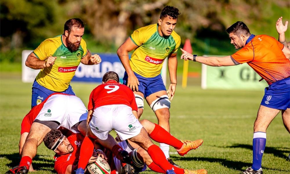 Seleção brasileira de Rúgbi - Portugal