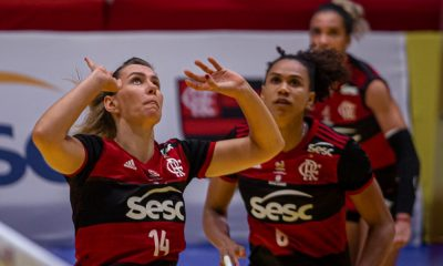 Sesc RJ Flamengo - Osasco - Superliga feminina