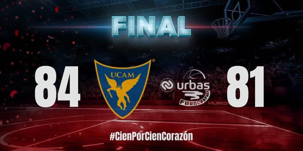 Pela Liga ACB (Campeonato Espanhol de basquete masculino), o UCAM Murcia, de Augusto Lima, levou a melhor sobre o Fuenlabrada, de Léo Meindl