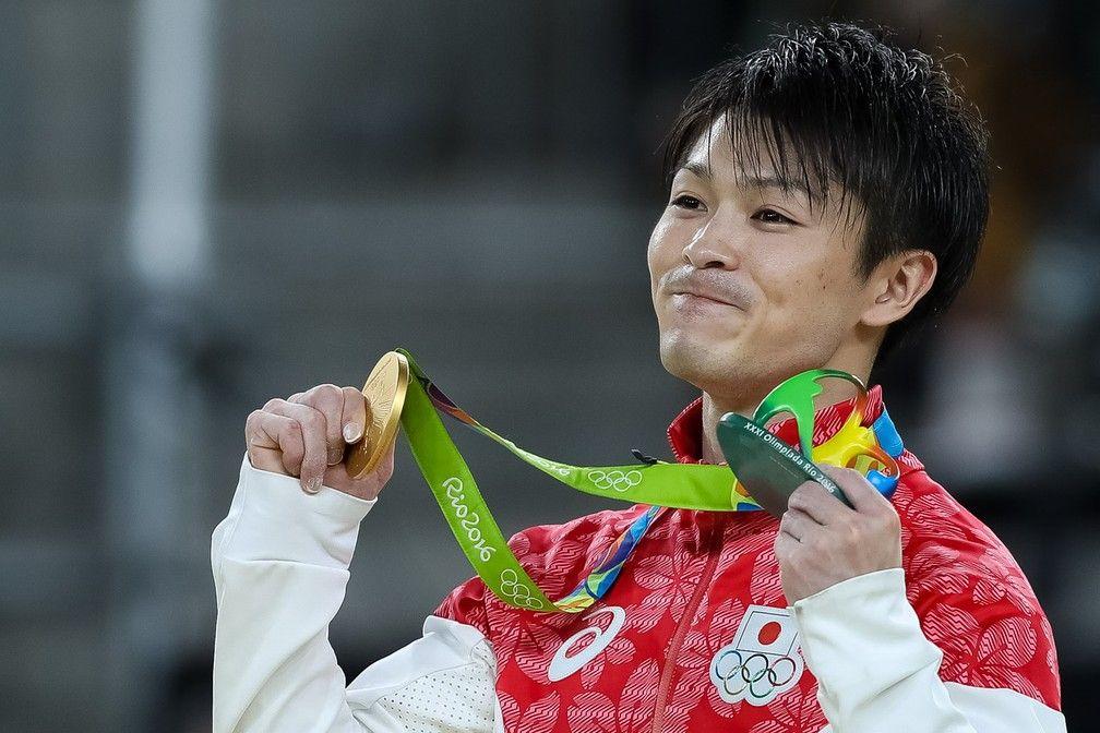 Uchimura ginástica artística jogos olímpicos tóquio 2020