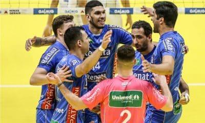 Campinas vôlei renata x Sesi - Superliga Masculina de vôlei
