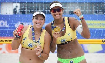 Ana Patrícia e Rebecca Circuito Brasileiro Vôlei de Praia ouro saquarema Centro de Desenvolvimento de Voleibol CDV