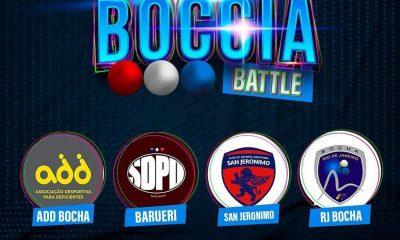 bocha paralímpica torneio online Libertadores Boccia Battle