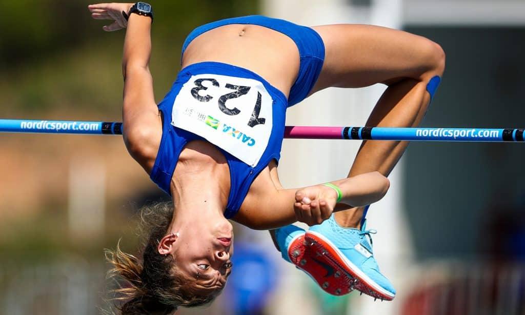 Gabriela Sá salto em altura Brasileiro Sub-20 de atletismo Orcampi