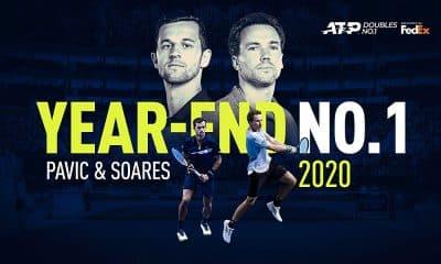 Bruno Soares Mate Pavic melhor dupla atp tênis duplas