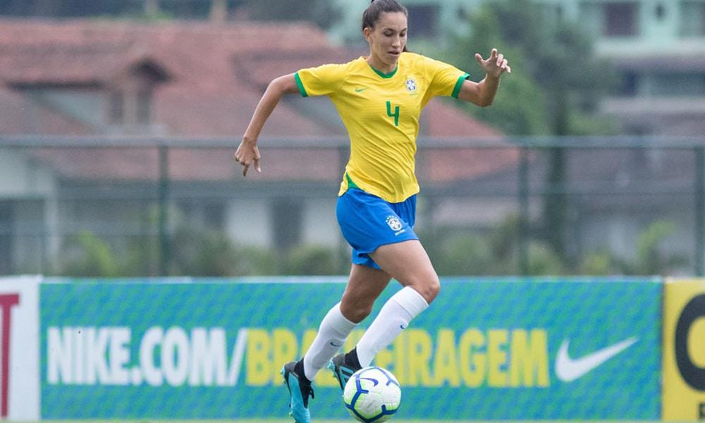 Camila seleção feminina de futebol seleção brasileira de futebol feminino Sub-20 Covid-19