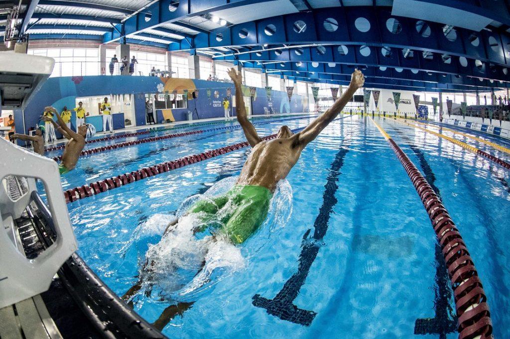 Centro de Treinamento Paralímpico natação paralímpica
