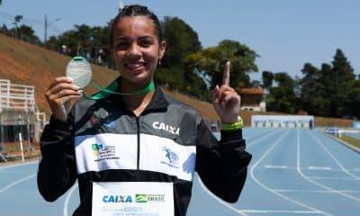Gabriela Muniz marcha atlética campeã bicampeã brasileiro sub-20 de atletismo
