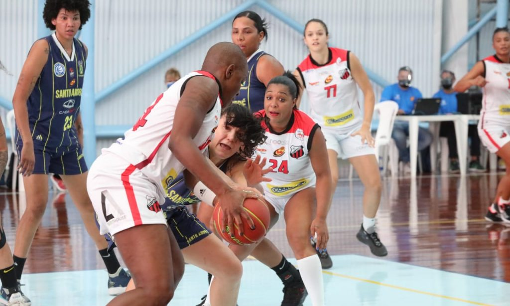Ituano Santo André Paulista de basquete feminino
