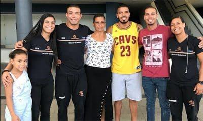 Jéssica Pereira judô família