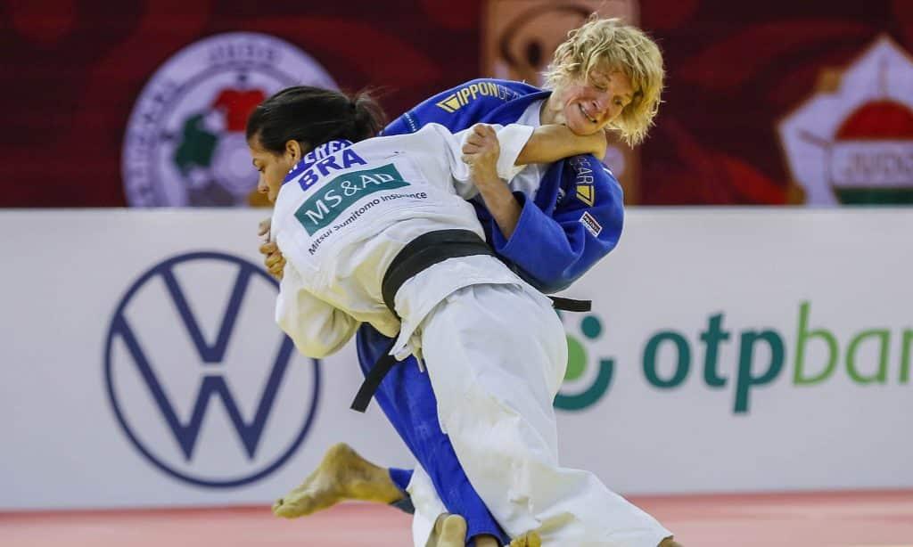 Jéssica Pereira seleção brasileira de judô Grand Slam de Budapeste Calenário de judô 2020 FIJ