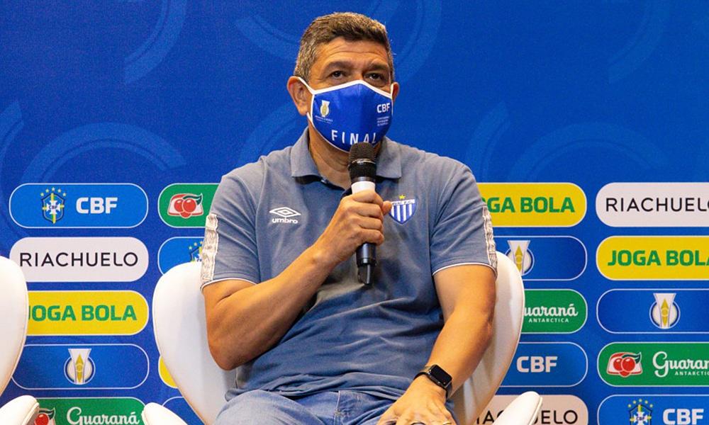 Jorge Barcellos técnico avaí kindermann futebol feminino final do brasileiro de futebol feminino