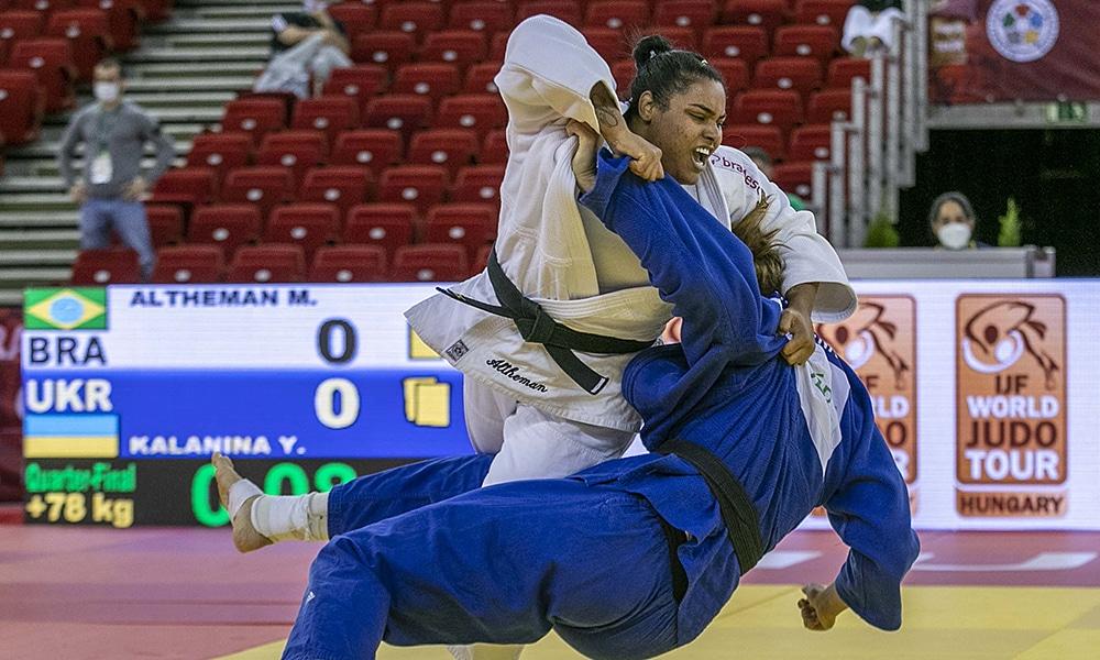 Maria Suelen Altheman seleção brasileira de judô Grand Slam de Budapeste Hungria