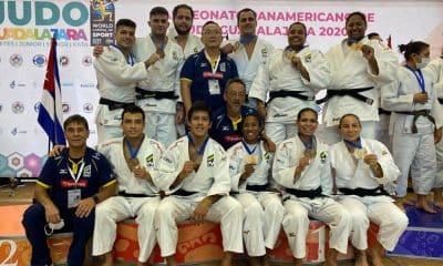 Seleção brasileira de judô campeã equipes Pan-Americano