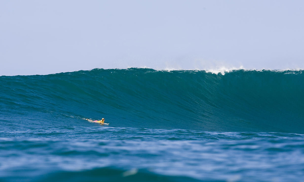 Stephanie Gilmore circuito mundial de surfe wsl Sunset Beach Havaí