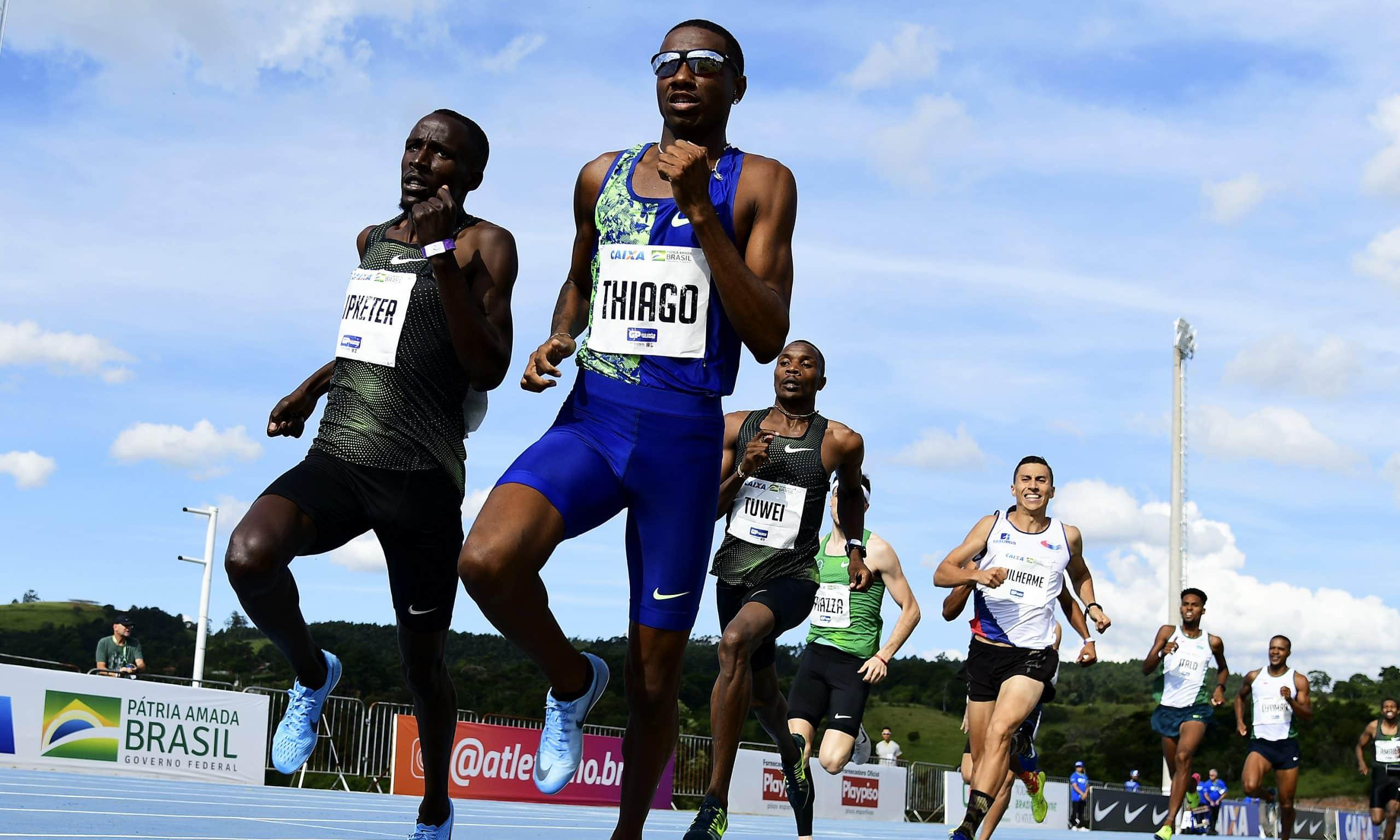 Thiago André 800 m GP Brasil
