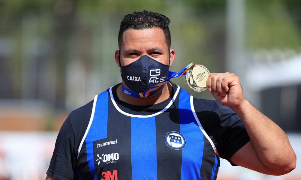 Allan Wolski venceu o primeiro ouro do Troféu Brasil de Atletismo