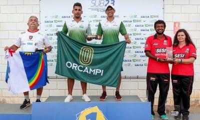 Orcampi foi a equipe campeã do Campeonato Brasileiro Sub-23