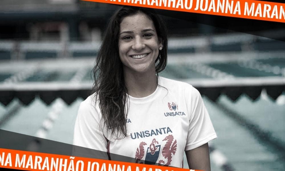 Joanna Maranhão, ex-atleta da natação, na arte do 5 fatos (Arte: Caio Poltronieri)