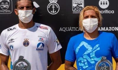 Ana Marcela Cunha - Allan do Carmo - Rio Negro Challenge