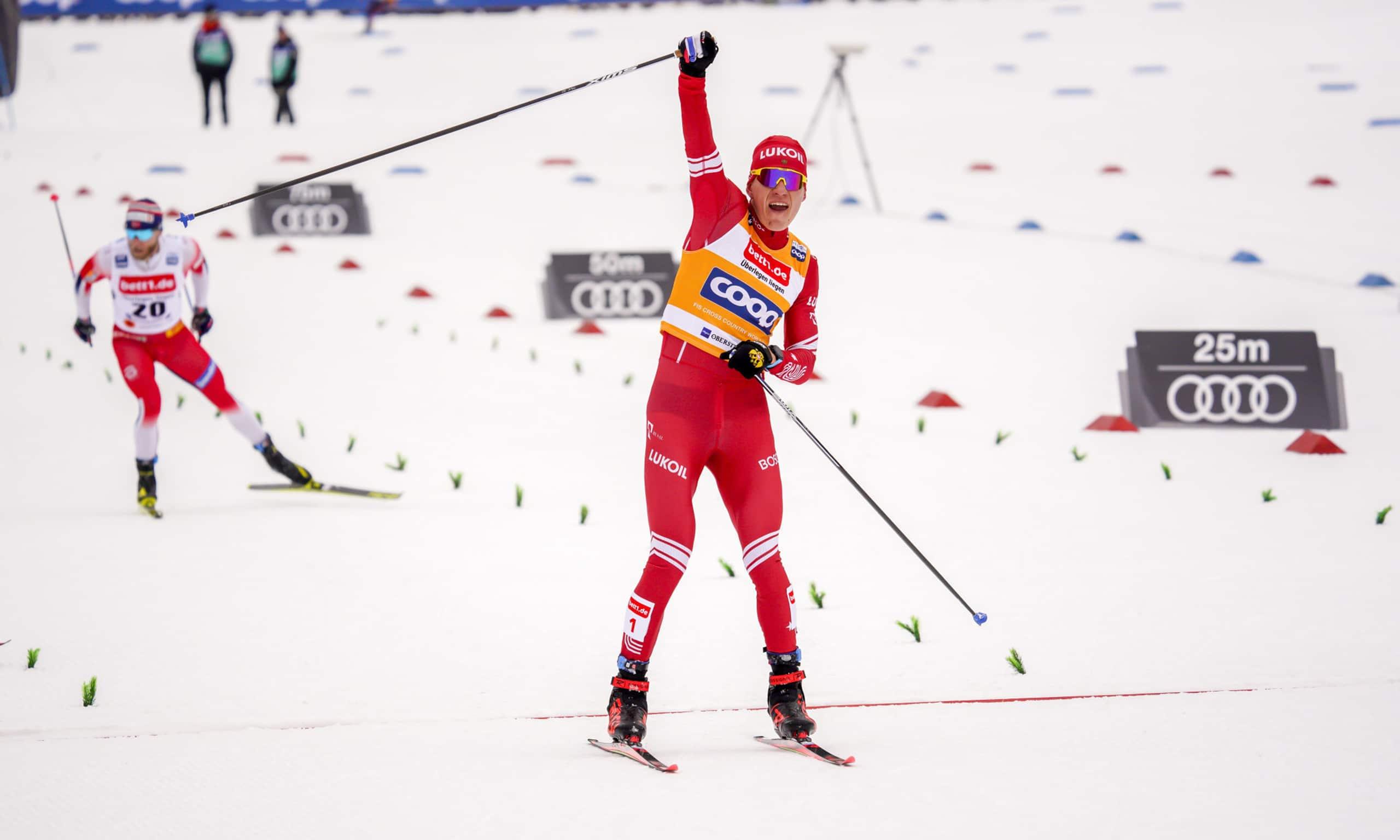 Alexander Bolshunov é o atual campeão do Tour de Ski